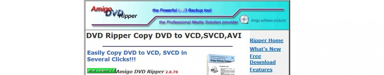 Amigo DVD Ripper